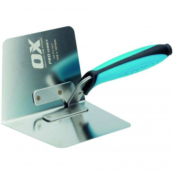 Ox 102x127mm Pro Internal Corner Trowel