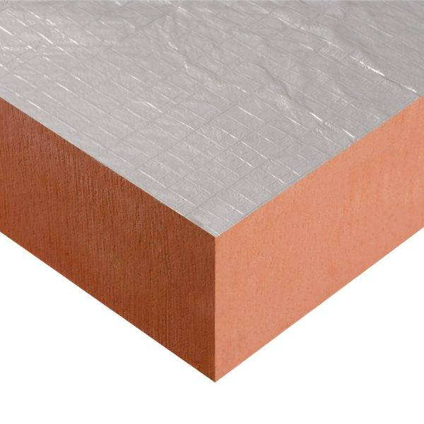 PIR Foilfaced Insulation Board 2400 x 1200 x 100mm