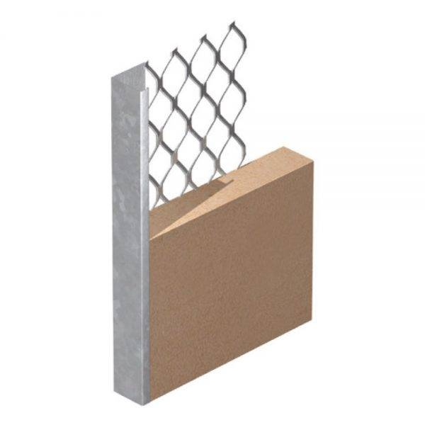 Expamet Plaster Stop Bead 2.4mx10mm