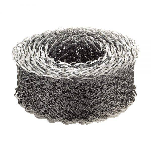 Expamet Coil Mesh Galvanished 65mm x 20m