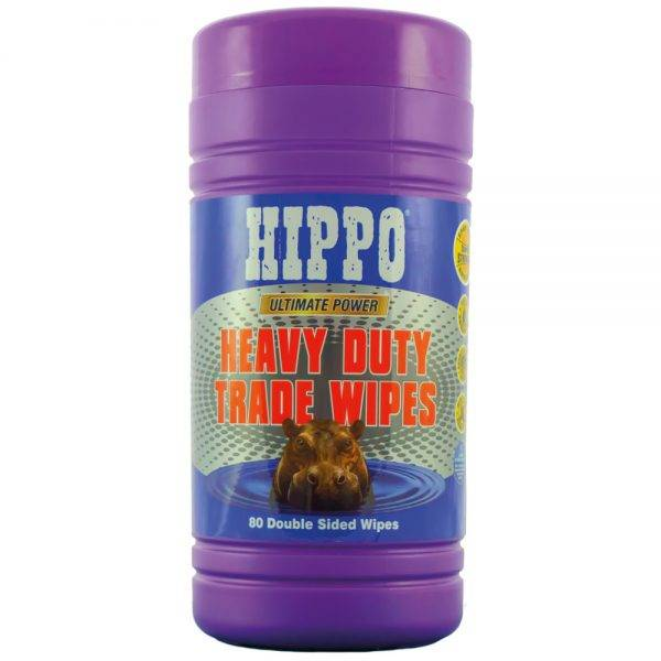 Hippo Heavy Duty Trade Wipes Pk80