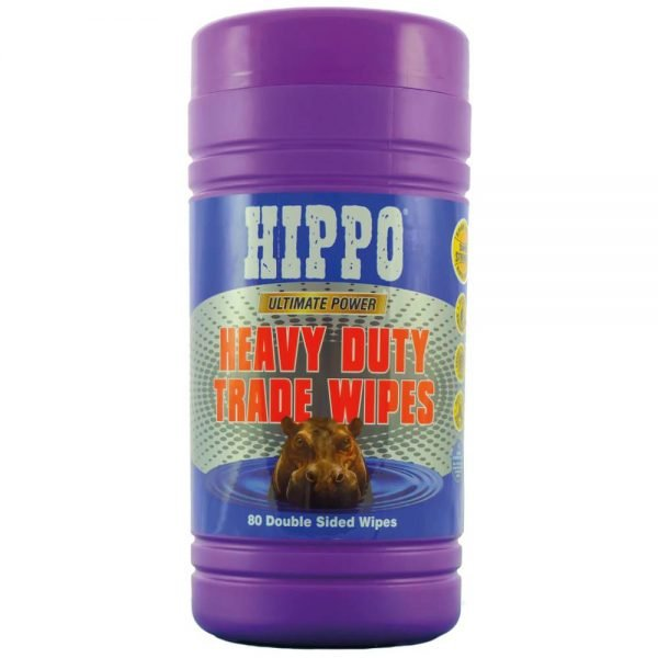 Hippo Heavy Duty Trade Wipes 80 Pack