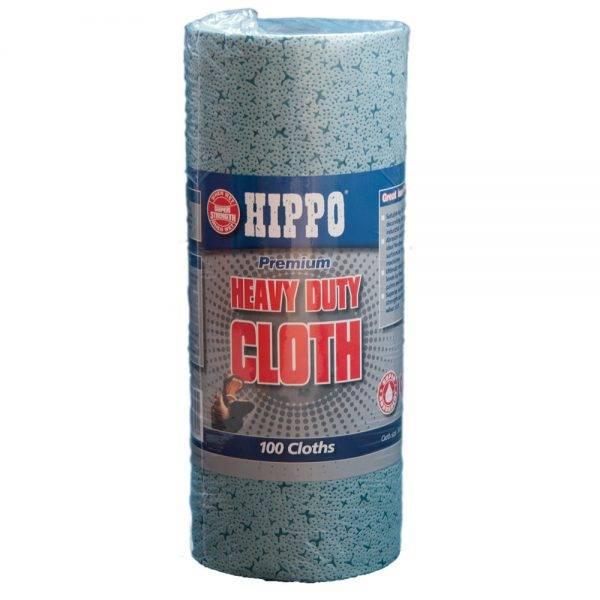 Hippo Heavy Duty Cloth 34cm x 24cm