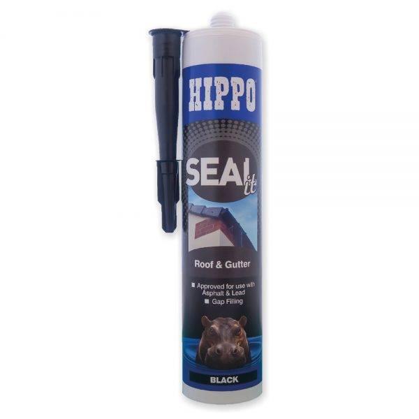 Hippo SEALit Roof & Gutter Cartridge Black 310ml