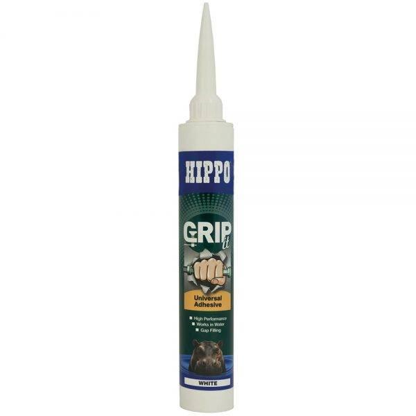 Hippo 350ml†GRIPit Universal Adhesive Cartridge White