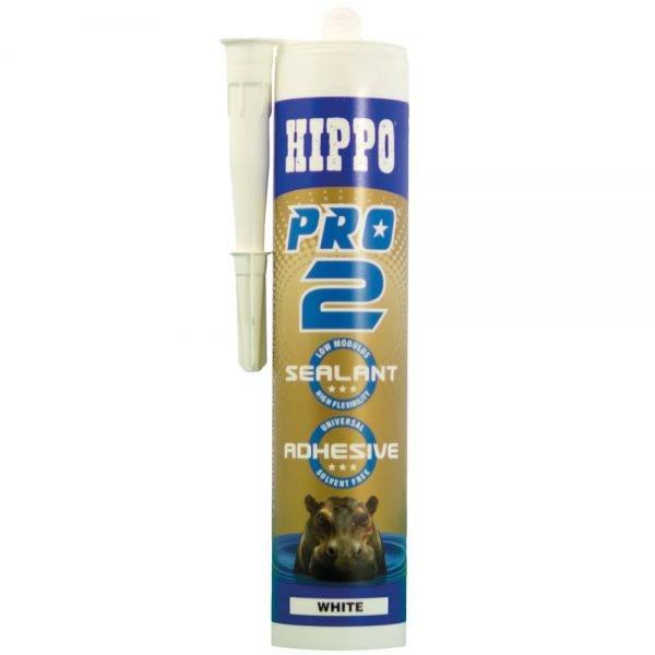 Hippo 310ml† PRO2 Sealant & Adhesive Cartridge White