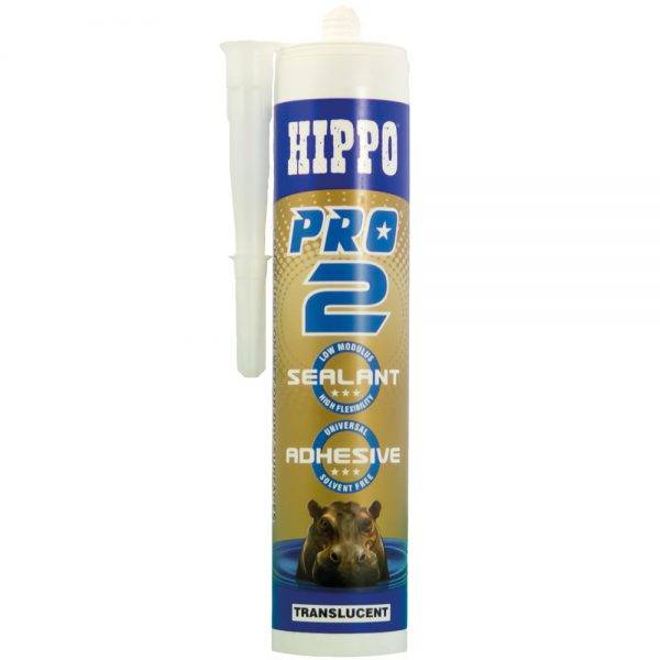 Hippo 310ml† PRO2 Sealant & Adhesive Cartridge Trans