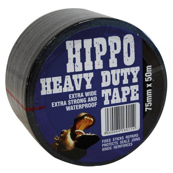 Hippo Heavy Duty Tape Extra Wide 75mm x 50m