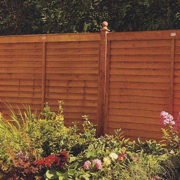Supafence Panel Golden Brown 1.83 x 0.9m