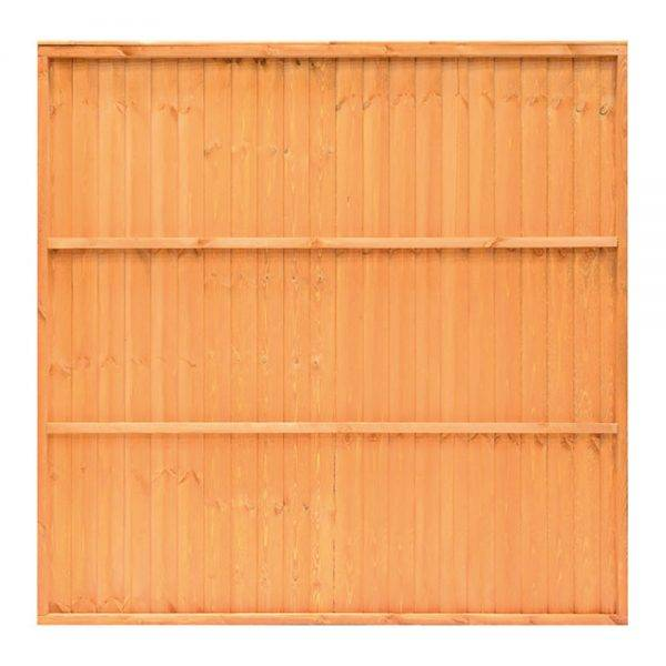 Closeboard Panel Golden Brown 1.83 x 1.5m