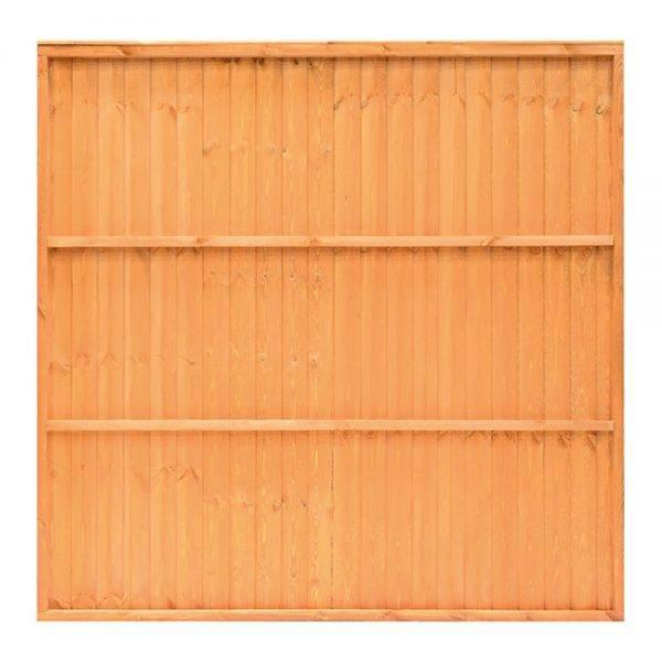 Closeboard Panel Golden Brown 1.83 x 0.9m
