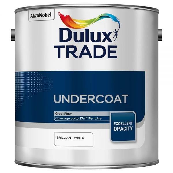 Dulux Trade Undercoat Brilliant White 2.5L