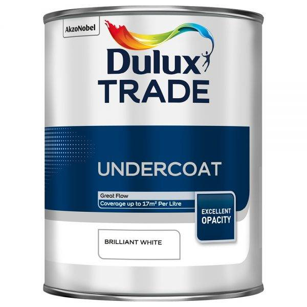 Dulux Trade Undercoat Brilliant White 1L