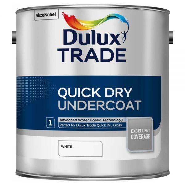 Dulux Trade Quick Dry Undercoat White 2.5L