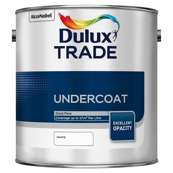 Dulux Trade Undercoat White 2.5L