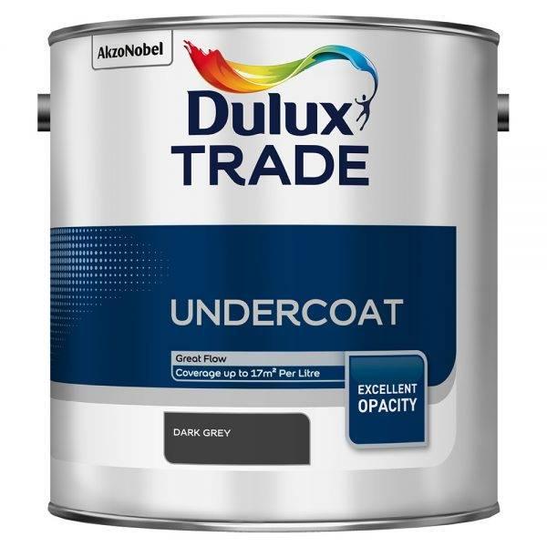 Dulux Trade Undercoat Dark Grey 2.5L