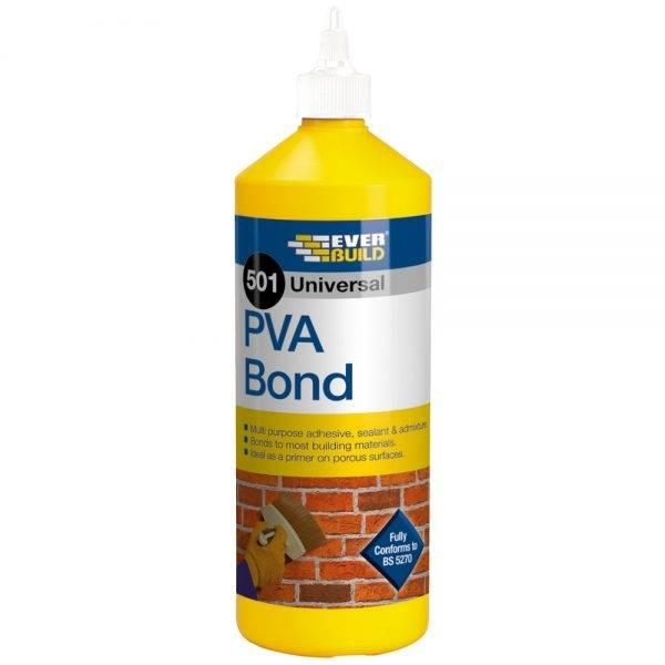 Everbuild 501 PVA Bond 1L