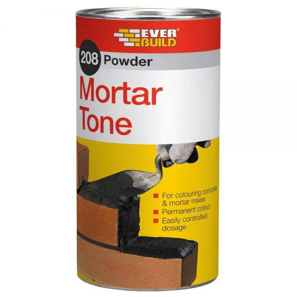 Everbuild 208 Powder Mortar Tone Brown 1kg