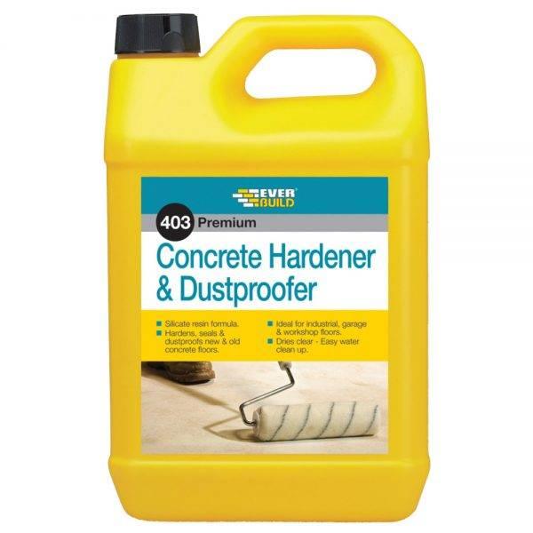 Everbuild 403 Concrete Hardener & Dustproofer 5L
