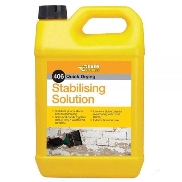 Everbuild 406 Stabilising Solution 5L
