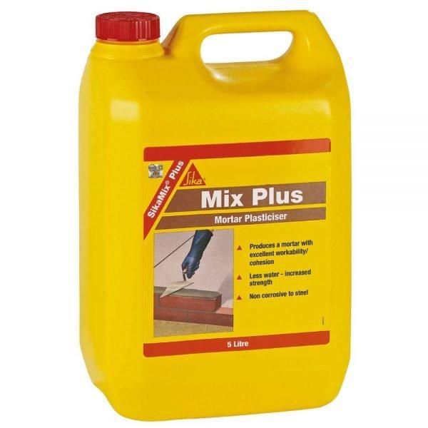 Sika SikaMix Plus General Purpose Liquid Plasticiser 5L
