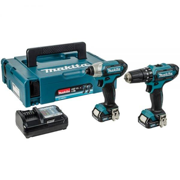 Makita 10.8v Combo Kit LI-ION (2pc)