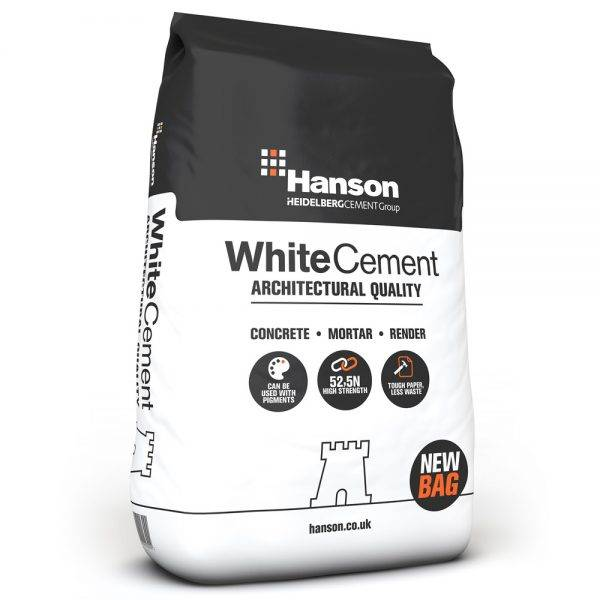 Castle White Cement 25kg