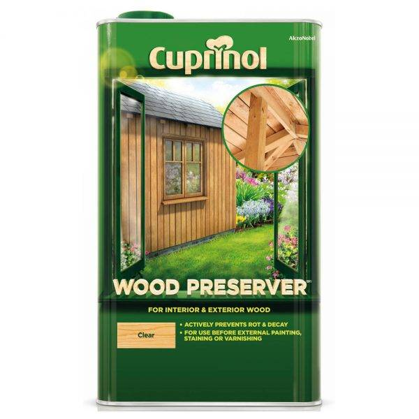 Wood Preserver Clear 5L