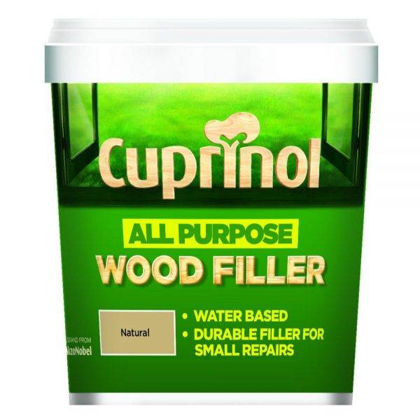 All Purpose Wood Filler Natural 250ml