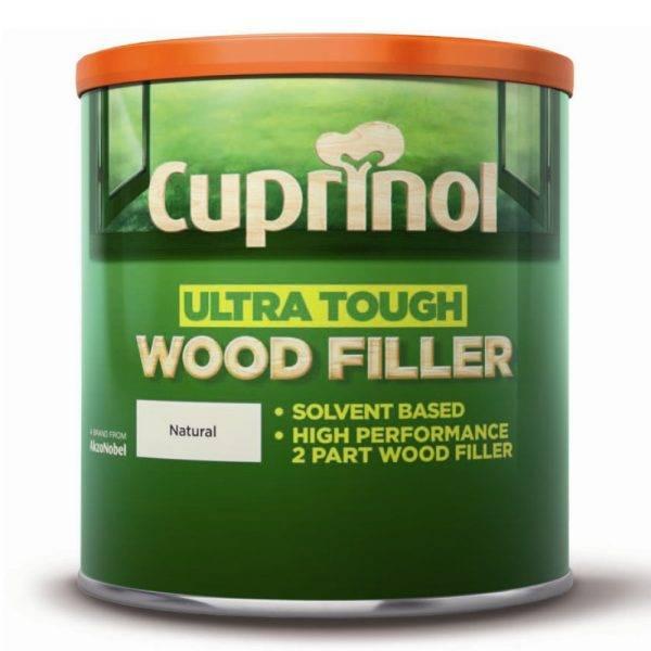 Ultra Tough Wood Filler Natural 250g