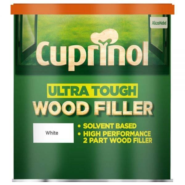Ultra Tough Wood Filler White 250g