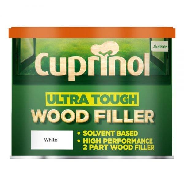 Ultra Tough Wood Filler White 500g