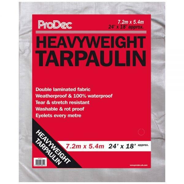 Rodo 24 x 18' (7.2x5.4m) Prodec Heavyweight Tarpaulin