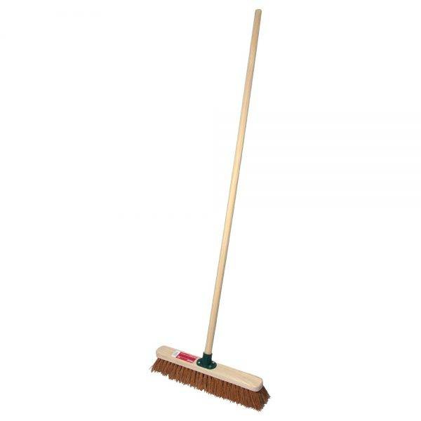 """Rodo 18"""" Prodec Soft Sweeping Broom Complete with Handle"""