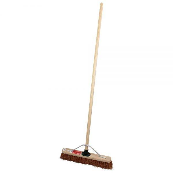 """Rodo 18"""" Prodec Soft Sweeping Broom Complete with Handle & Stay"""