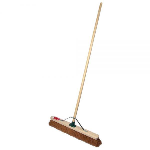 """Rodo 24"""" Prodec Soft Sweeping Broom Complete with Handle & Stay"""