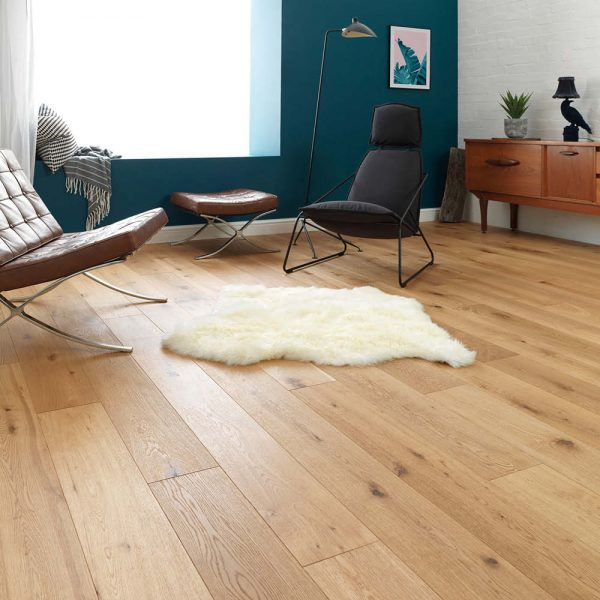 Woodpecker Chepstow Brushed & Oiled Rustic Oak 189 x 1860mm (2.11m_/pack)