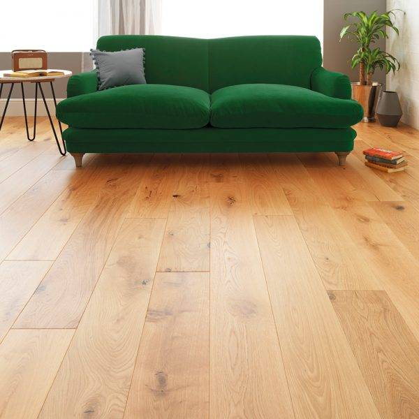 Uni2 Classic 189 Natural Oak Engineered Wood Flooring 14 x 189 x 1860mm
