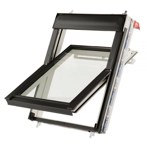 Keylite Centre Pivot Thermal Roof Window 550 x 980mm