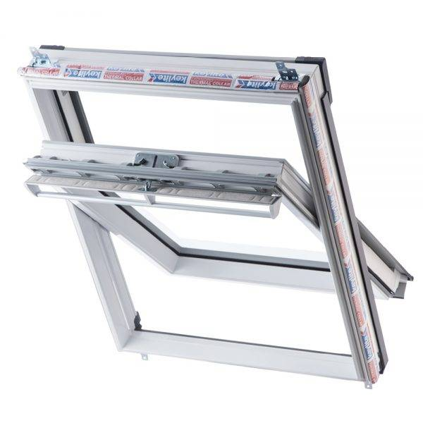 Keylite Polar PVC Centre Pivot Thermal Roof Window 780 x 980mm