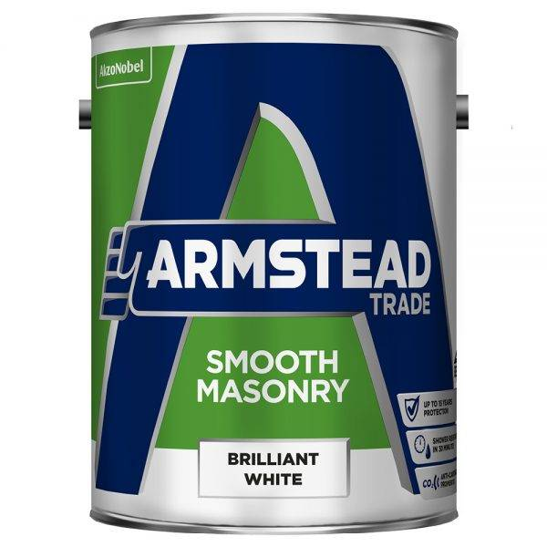 Smooth Masonry Brilliant White 5L