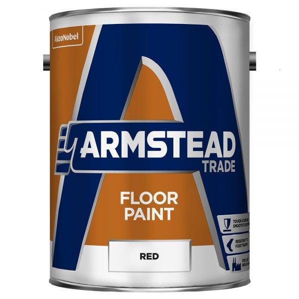 Floor Paint Red 5L