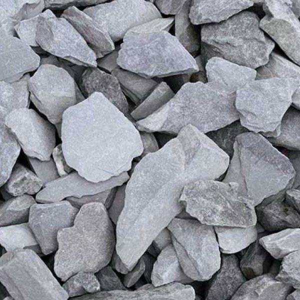 20mm Blue Slate Decorative Aggregate 25kg