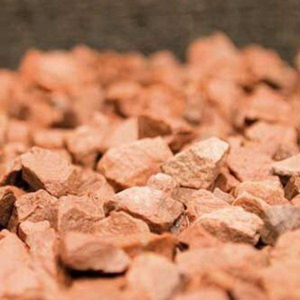 14mm Red Decorative Chippings 25kg