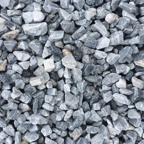 14mm Ice Blue Chippings 25kg