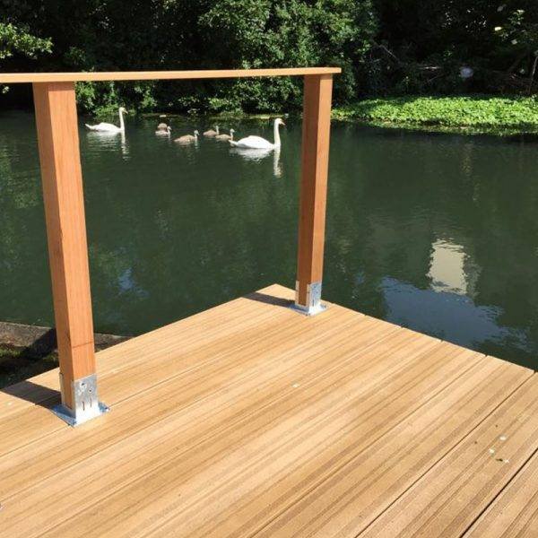 Millboard 32 x 176mm x 3.6m Lasta Grip Golden Oak Decking