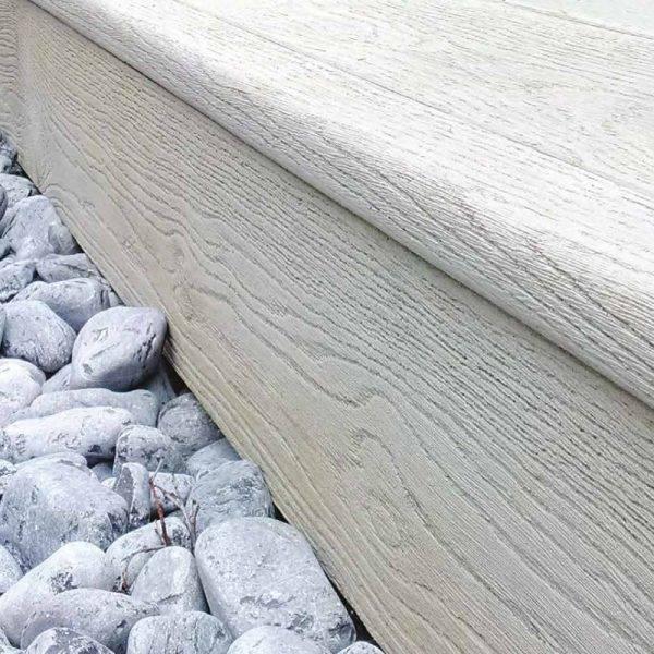 Millboard 32 x 176mm x 3.2m Fascia Board Smoked Driftwood