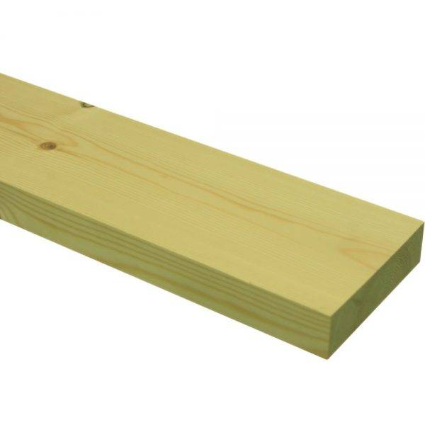 4.8m Tanalised Green Unseasoned Carcassing Timber 22 x 100mm