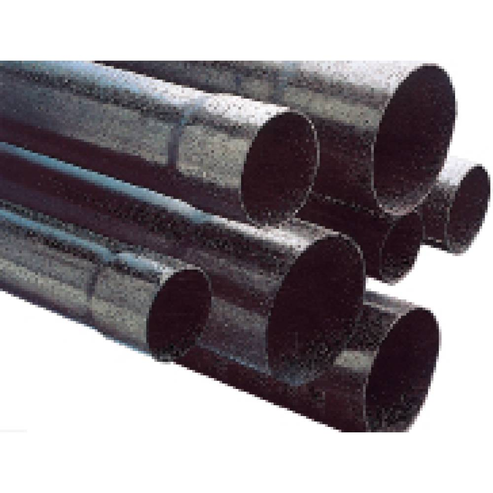 Polypipe 54mm x 6m General Purpose Duct Black