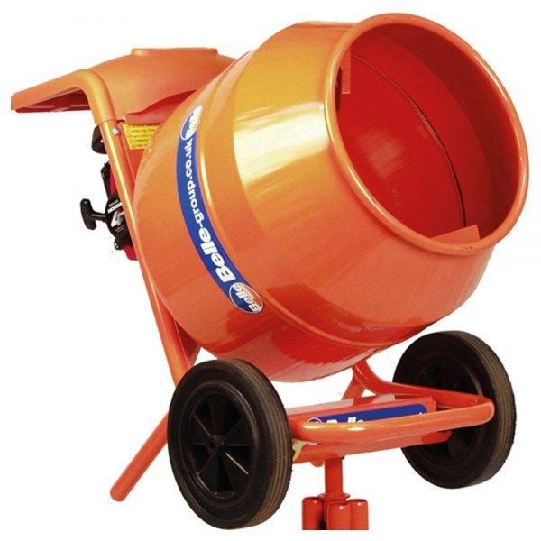 Belle Mini 150 Honda Petrol Cement Mixer & Rotational Stand